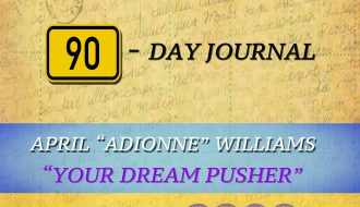 Visionary Dreamer 90-Day Journal book cover